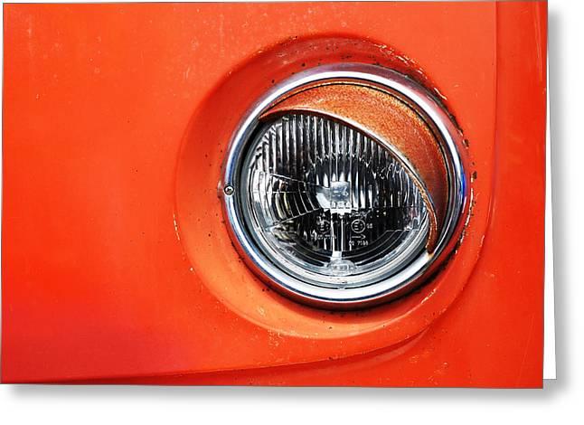 Old Trucks Greeting Cards - VW Camper Van Greeting Card by Mark Rogan