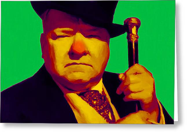W C Fields 20130217p180 Greeting Card by Wingsdomain Art and Photography