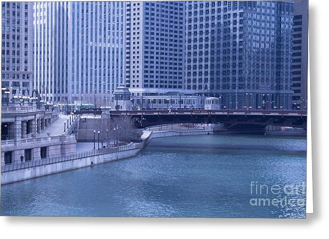 Magnificent Mile Greeting Cards - Wabash Avenue Greeting Card by Arlene Carmel