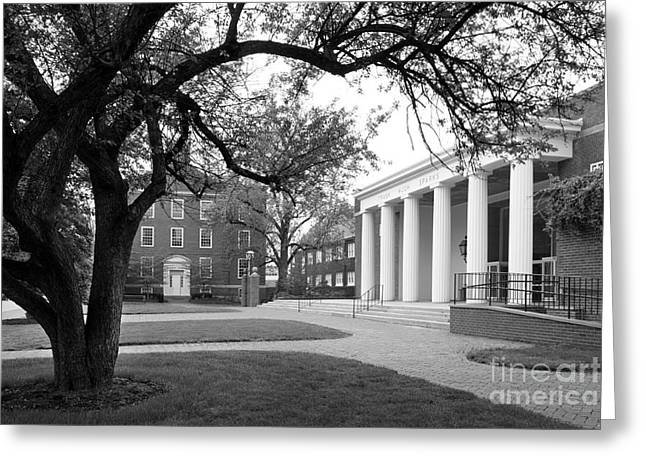 Architecture Greeting Cards - Wabash College Sparks Center Greeting Card by University Icons