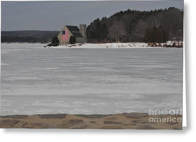 Catherine Reusch Daley Fine Artist Greeting Cards - Wachusett Reservoir Greeting Card by Catherine Reusch  Daley