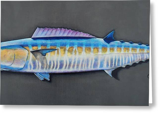 Wahoo Drawings Greeting Cards - Wahoo 3D Greeting Card by Johnny Widmer