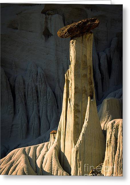 Escalante National Monument Greeting Cards - Wahweap Hoodoo Greeting Card by Inge Johnsson