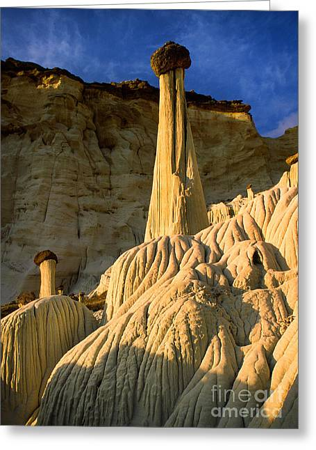 Escalante Greeting Cards - Wahweap Hoodoos at Dawn Greeting Card by Inge Johnsson