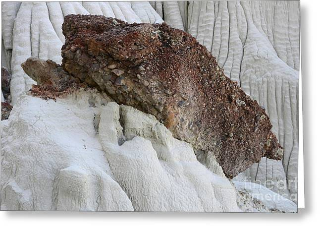 Light Within Greeting Cards - Wahweap Hoodoos Detail 1 Greeting Card by Bob Christopher