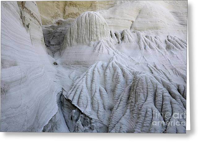 Wahweap Greeting Cards - Wahweap Hoodoos Detail 2 Greeting Card by Bob Christopher