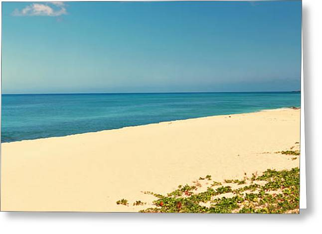 Ocean Photography Greeting Cards - Waianae Coast, Oahu, Hawaii, Usa Greeting Card by Panoramic Images