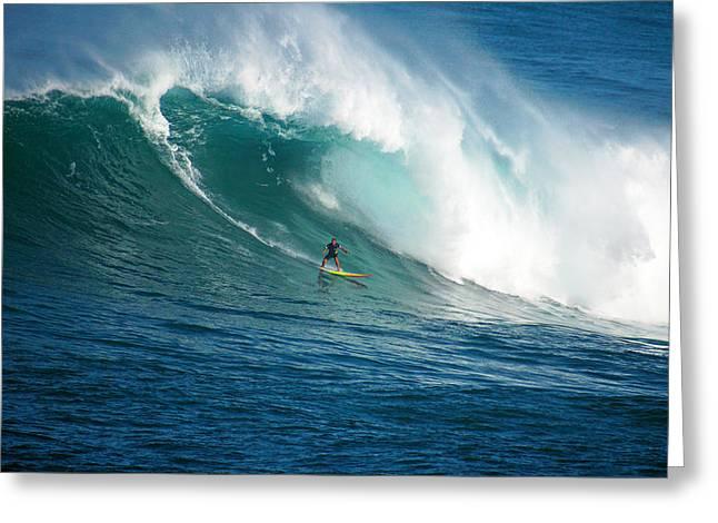 Skystudiohawaii Greeting Cards - Waimea Bay Hawaii Greeting Card by Kevin Smith