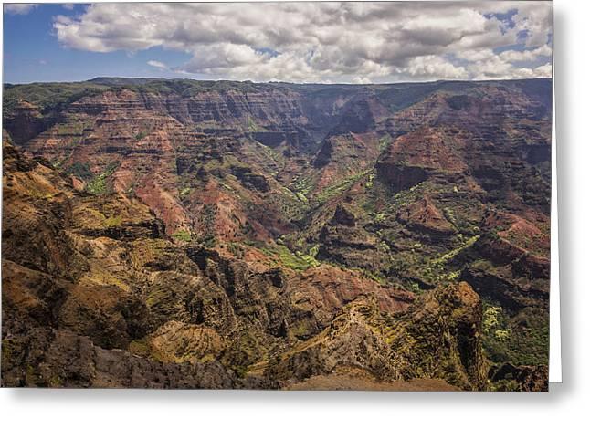Waimea Greeting Cards - Waimea Canyon 7 - Kauai Hawaii Greeting Card by Brian Harig