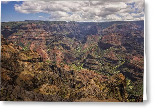 Waimea Canyon 7 - Kauai Hawaii Greeting Card by Brian Harig