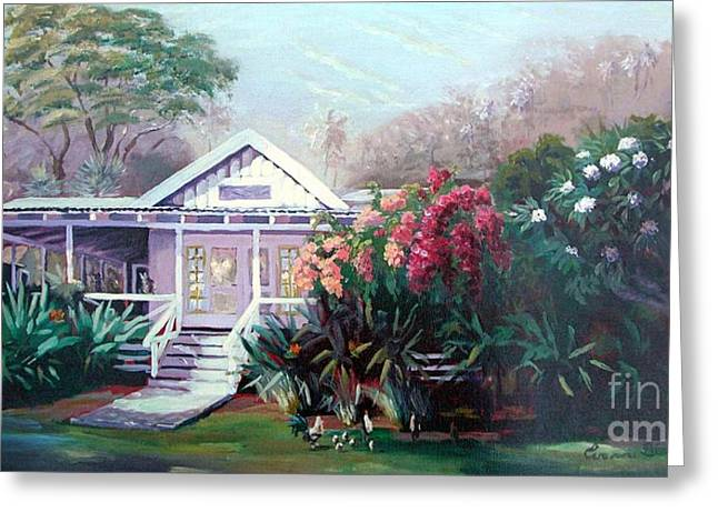 Locations Pastels Greeting Cards - Waimea Dream Greeting Card by Evonne Bishop