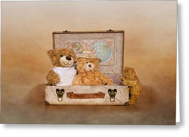 Toy Boat Greeting Cards - Wait for Meeee Greeting Card by Linda Muir