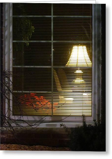 Guy Ricketts Photography Greeting Cards - Waiting At The Window Greeting Card by Guy Ricketts