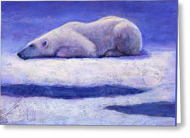 Waiting  Greeting Card by Billie Colson