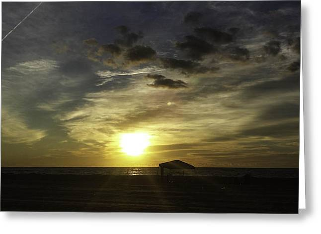 Para Surfing Greeting Cards - Waiting for Guard Duty Greeting Card by Debra Bowers