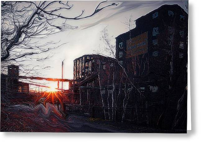 Recently Sold -  - Monolith Greeting Cards - Waiting For Spring... Greeting Card by Arthur Miller