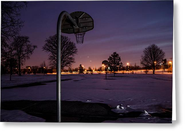 Basketballs Greeting Cards - Waiting for Spring Greeting Card by Jason Massey