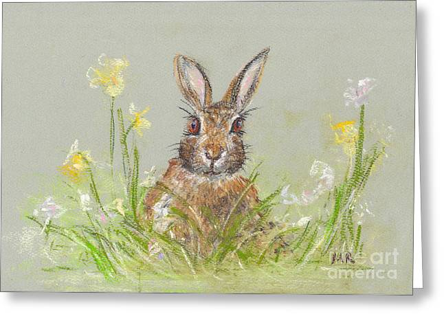 Michelle Pastels Greeting Cards - Waiting for Spring Greeting Card by Michelle Reeve