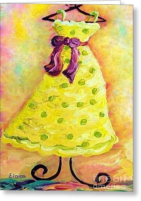 Bright Colors Greeting Cards - Waiting for Summer - Impressionism Greeting Card by Eloise Schneider