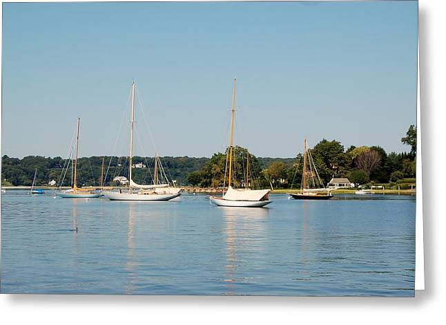 Masts Greeting Cards - Waiting for the Crew Greeting Card by Christopher James