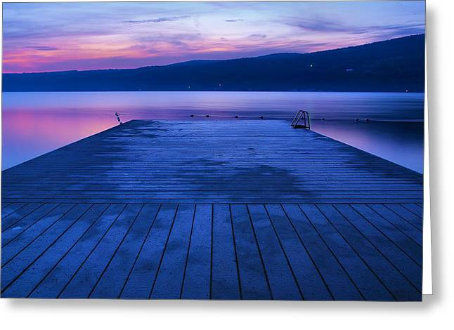 Exposure Framed Prints Greeting Cards - Waiting For The Dawn Greeting Card by Steven Ainsworth
