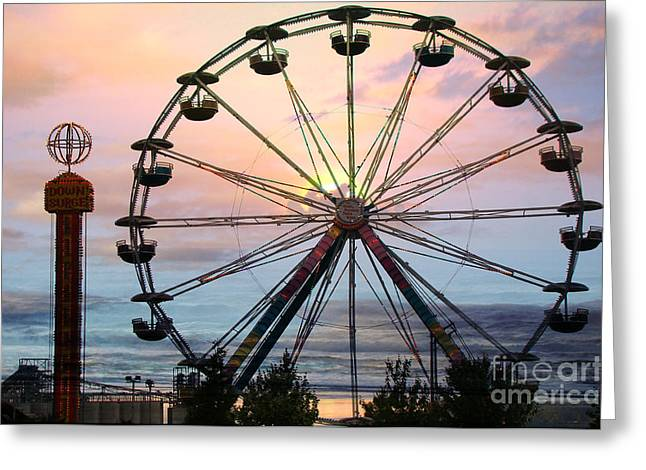 Sunset Framed Prints Greeting Cards - Waiting for The Sunset Greeting Card by Beverly Guilliams