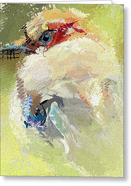 House Pet Digital Art Greeting Cards - Waiting for the Winter Greeting Card by Yury Malkov