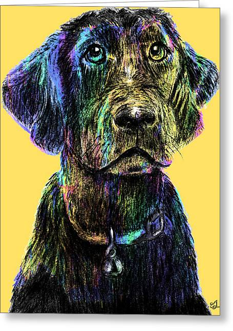 Veterinary Digital Greeting Cards - Waiting For You #3 Greeting Card by Music of the Heart
