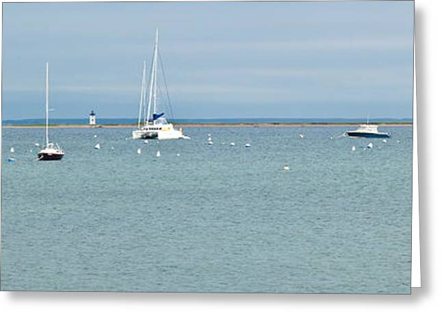 New England Ocean Greeting Cards - Waiting in Provincetown Greeting Card by Michelle Wiarda