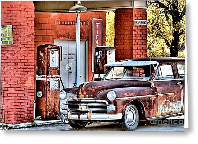 Lube Greeting Cards - Waiting.... Greeting Card by Joe Russell
