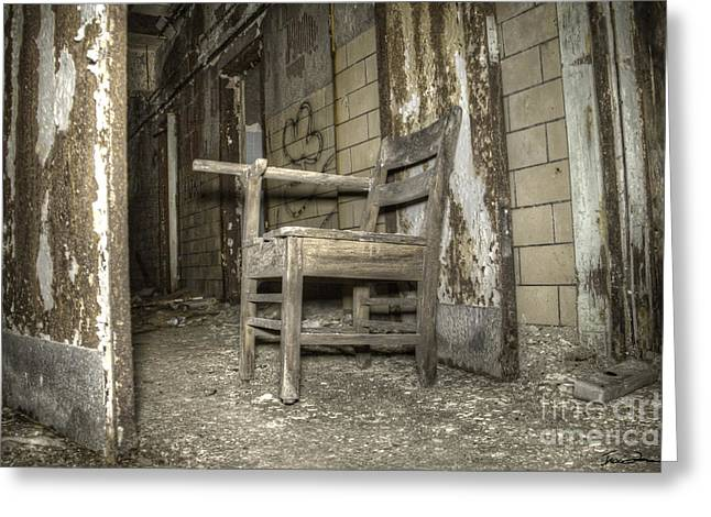 Decay Laws Greeting Cards - Waiting Greeting Card by Traci Law