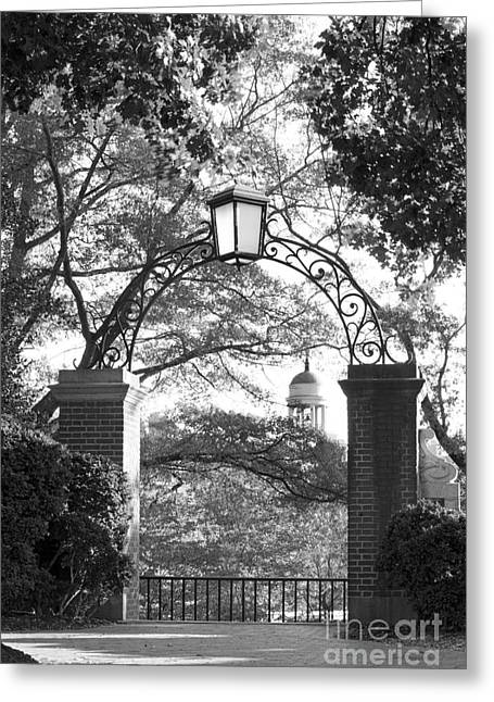 Recently Sold -  - Special Occasion Greeting Cards - Wake Forest University Gate Greeting Card by University Icons