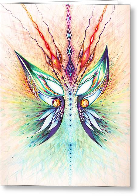 Andrea Carroll Greeting Cards - Wake Up Greeting Card by Andrea Carroll