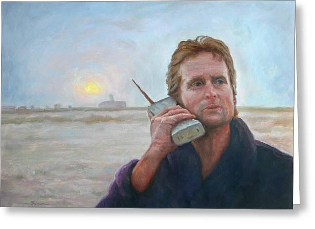 Wake Up Call Greeting Card by Jeff Dickson