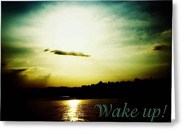 Charlotte Greeting Cards - Wake Up Greeting Card by The Art With A Heart By Charlotte Phillips