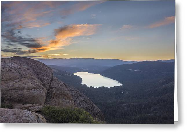 Tahoe National Forest Greeting Cards - Waking Life Greeting Card by Jeremy Jensen