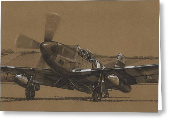 Spitfire Greeting Cards - Waking Up Merlin Greeting Card by Wade Meyers