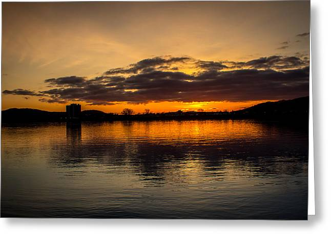 Jahred Allen Photography Greeting Cards - Waking up with God Greeting Card by Jahred Allen