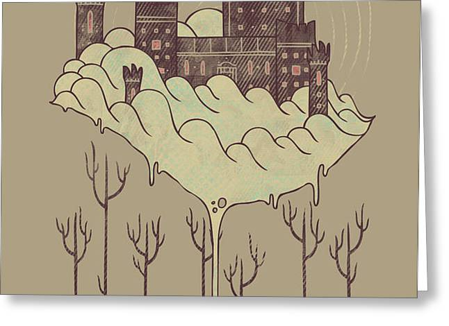 Walden Greeting Card by Hector Mansilla