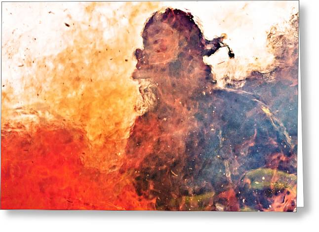 Walk Through Hell Greeting Card by Everet Regal