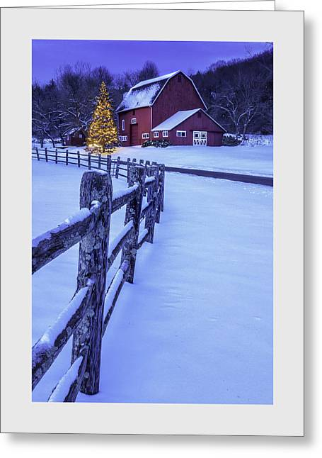 Walking In A Winter Wonderland Greeting Card by Thomas Schoeller