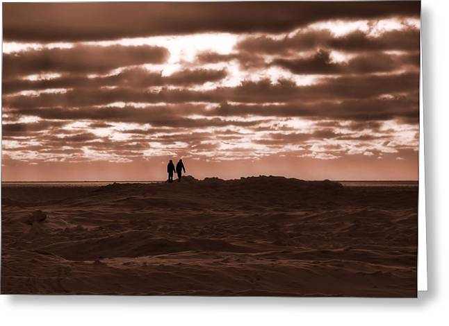 Wife Greeting Cards - Walking On Mars Greeting Card by Dan Sproul