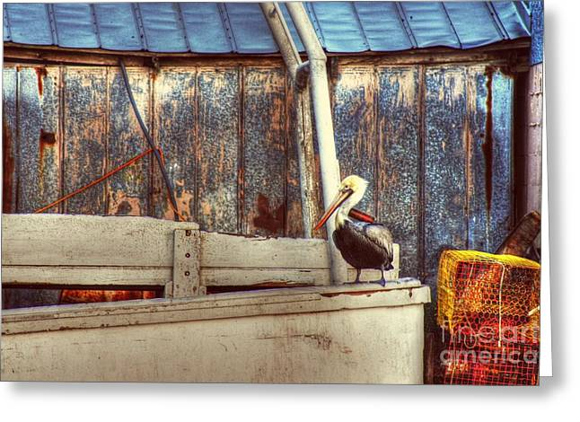 Walking The Plank Greeting Card by Benanne Stiens