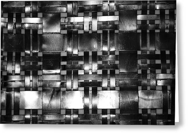 Interlaced Greeting Cards - Wall Texture Greeting Card by Mountain Dreams