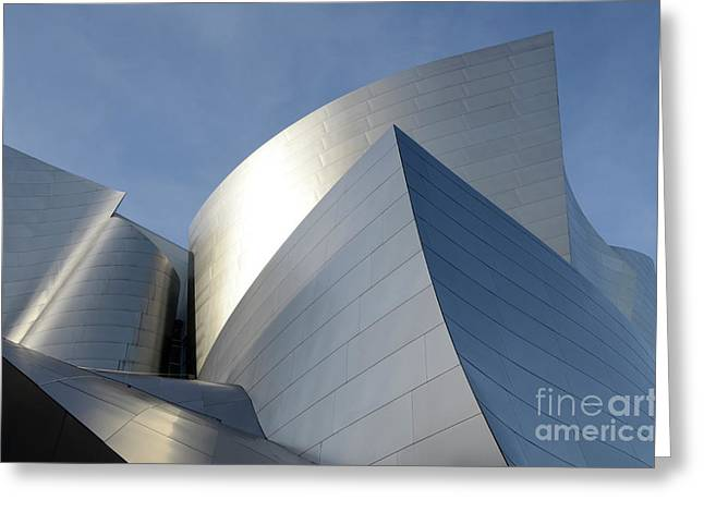 Walt Disney Concert Hall 14 Greeting Card by Bob Christopher