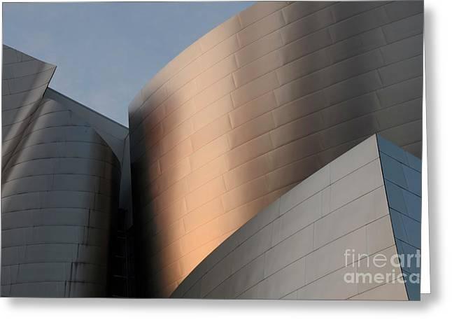 Walt Disney Concert Hall 15 Greeting Card by Bob Christopher