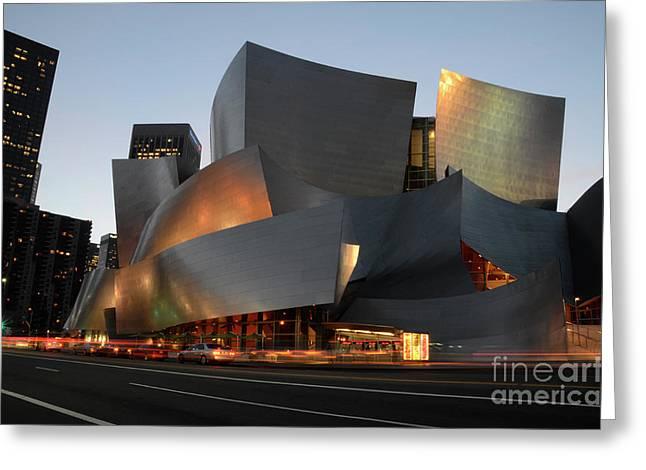 Walt Disney Concert Hall 21 Greeting Card by Bob Christopher