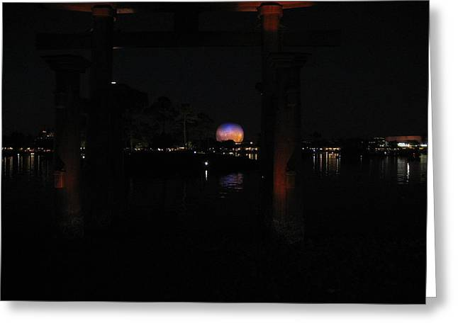 Rides Greeting Cards - Walt Disney World Resort - Epcot - 121217 Greeting Card by DC Photographer