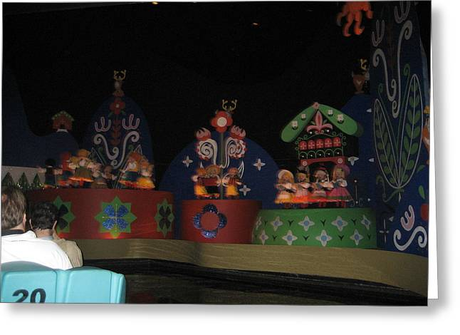 Walt Disney World Resort - Magic Kingdom - 1212100 Greeting Card by DC Photographer