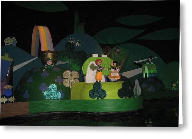 Disney Greeting Cards - Walt Disney World Resort - Magic Kingdom - 1212105 Greeting Card by DC Photographer